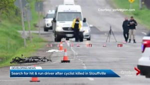 Search for hit-and-run driver after cyclist dies in Whitchurch-Stouffville